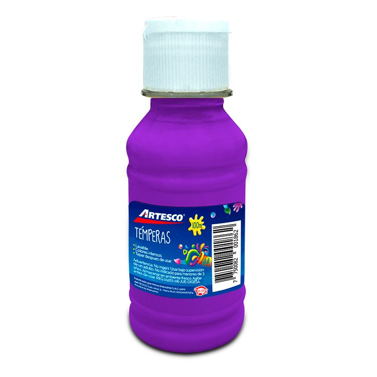 Artesco-T-mpera-con-Dosificador-Frasco-100-ml-Morado-1-187641735
