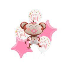 Pandup-Ballons-Bouquet-de-Globos-Beb-Mono-Rosado-6-Piezas-1-198008632