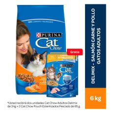 Cat-Chow-Alimento-para-Gatos-Adultos-Delimix-6-Kg-Alimento-H-medo-para-Gatos-Esterilizados-Sabor-Pescado-Pouch-100-g-2-unid-Gratis-1-203983270