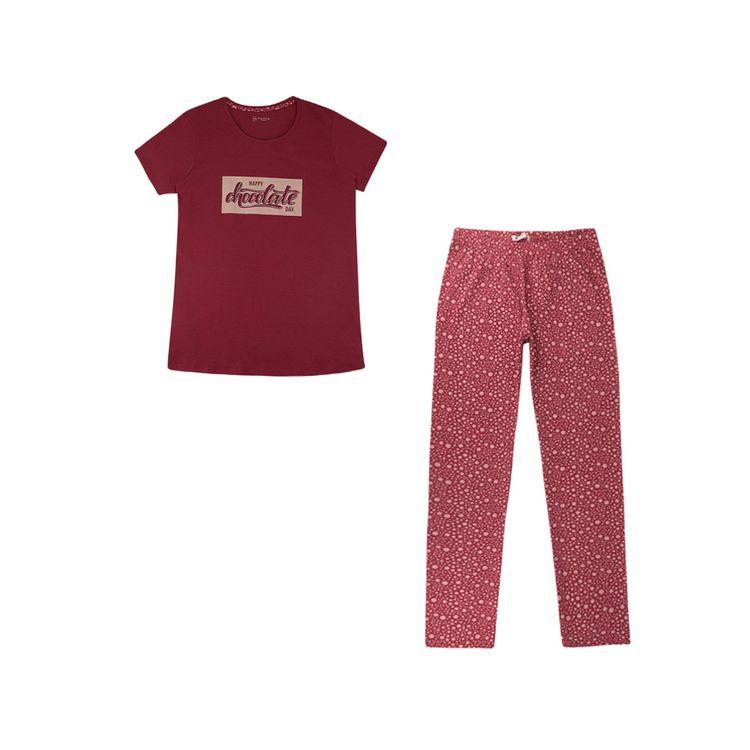 Urb-Pijama-Manga-Corta-Chocolate-Day-Talla-S-2-Piezas-1-197581231