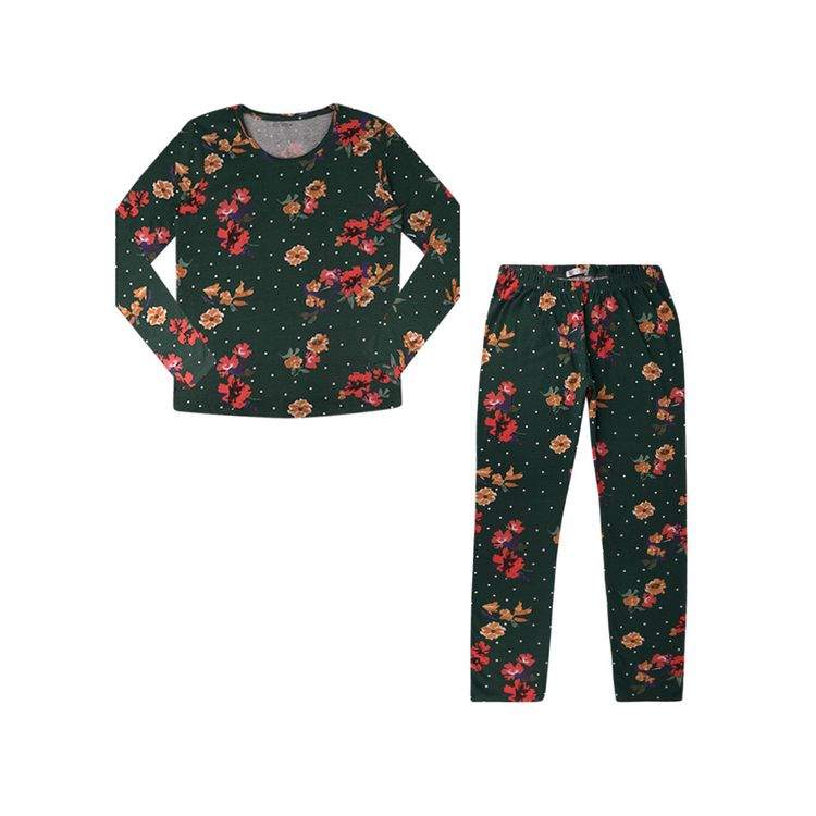 Urb-Pijama-Manga-Larga-Floral-Talla-S-2-Piezas-1-197581255