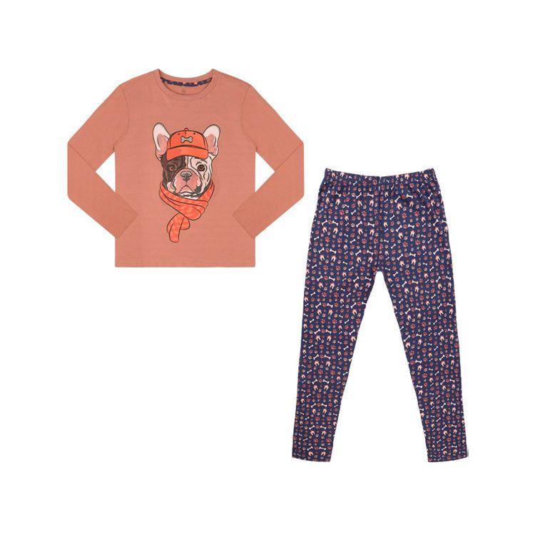 Urb-Pijama-Manga-Larga-Doggy-Talla-4-2-Piezas-1-197581459