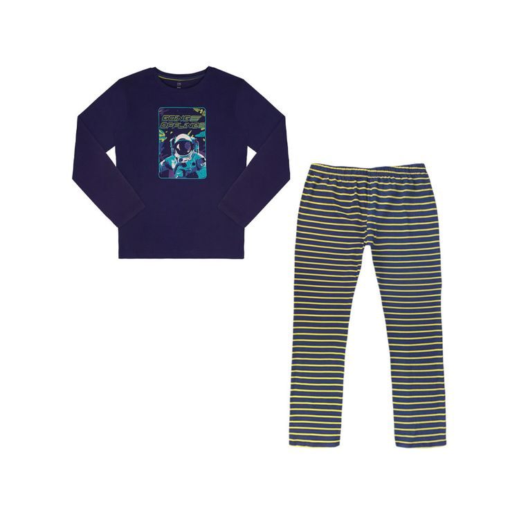 Urb-Pijama-Manga-Larga-Space-Talla-14-2-Piezas-1-197581478