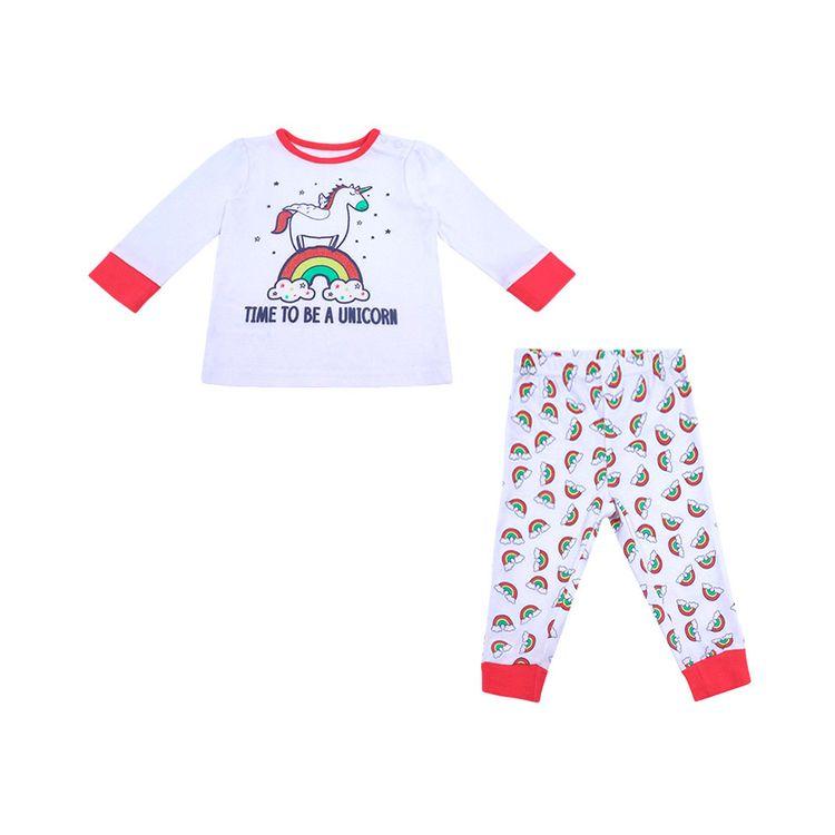 Urb-Pijama-Manga-Larga-Unicornio-Talla-18-a-24-Meses-2-Piezas-1-199765390