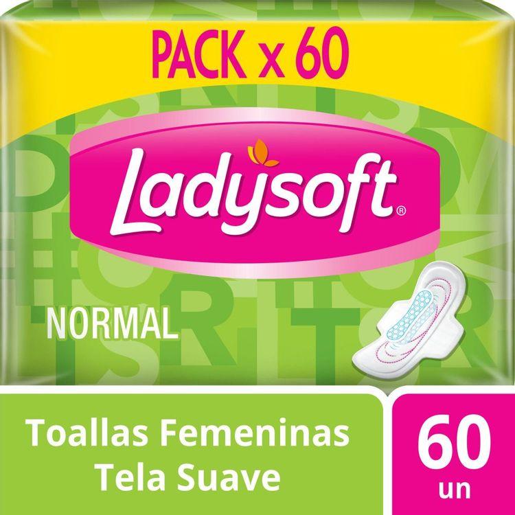 Toalla-Higi-nica-Ladysoft-Normal-con-Alas-Paquete-60-Unidades-1-16360554