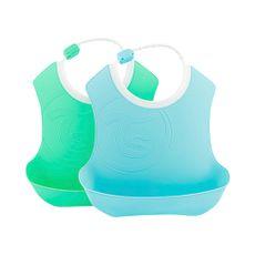 Twistshake-Babero-Celeste-Verde-Pack-2-unid-1-203982040
