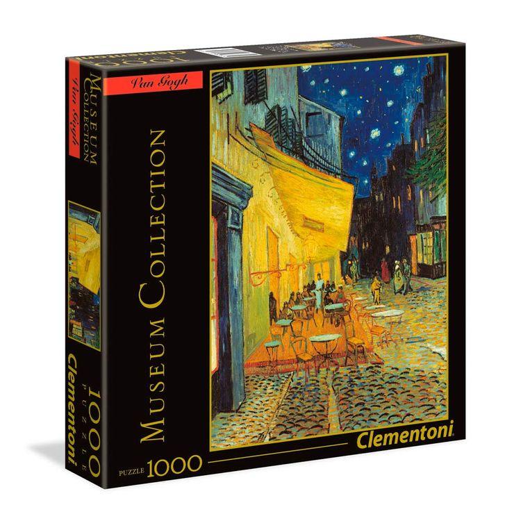 Clementoni-Rompecabezas-Museum-Collection-Van-Gogh-Terraza-de-Caf-por-la-Noche-1000-Piezas-1-193377209