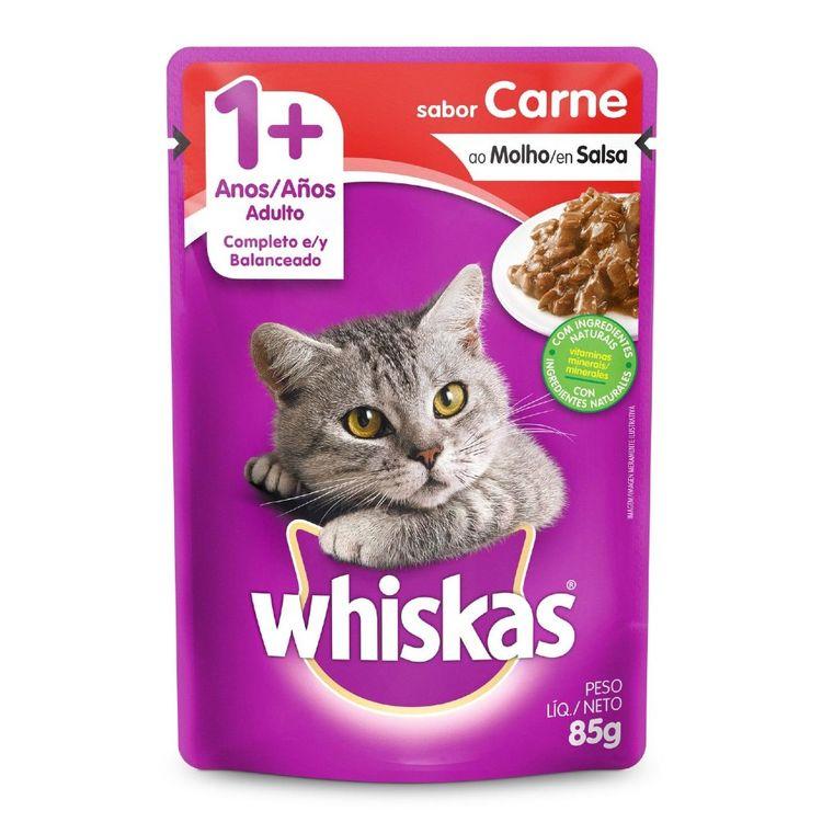 Whiskas-Alimento-H-medo-para-Gatos-Adultos-Sabor-Carne-Pouch-85-g-1-154018245