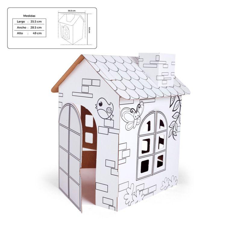Vinifan-Play-Juguete-Armable-de-Cart-n-Peque-o-Casa-1-208190348
