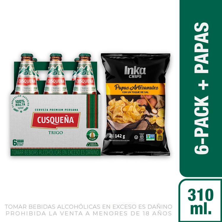 Cerveza-Cusque-a-Trigo-Pack-6-Botellas-de-310-ml-c-u-Papas-Artesanales-Andinas-Saladas-Inka-Chips-Bolsa-142-g-1-208191936