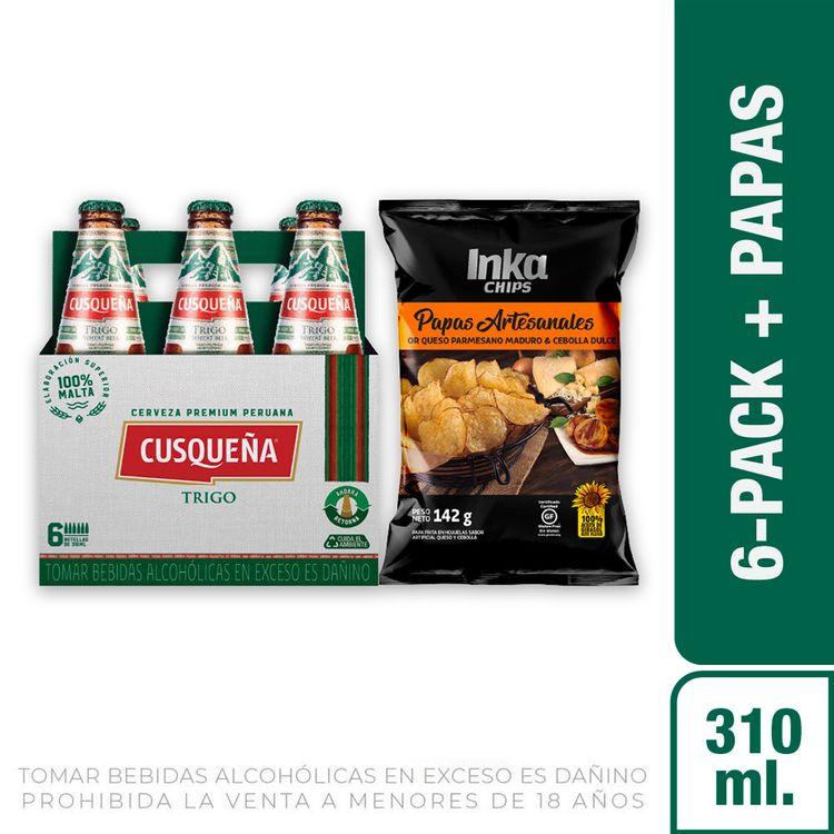 Cerveza-Cusque-a-Trigo-Pack-6-Botellas-de-310-ml-c-u-Papas-Chips-Saborizadas-Queso-Cebolla-Bolsa-142-g-1-208191949