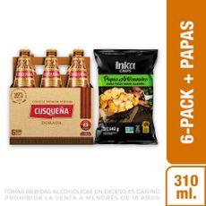 Cerveza-Dorada-Cusque-a-Pack-6-Botellas-de-310-ml-c-u-Papas-Artesanales-Sabor-Jalape-o-Inka-Chips-Bolsa-142-g-1-208191953