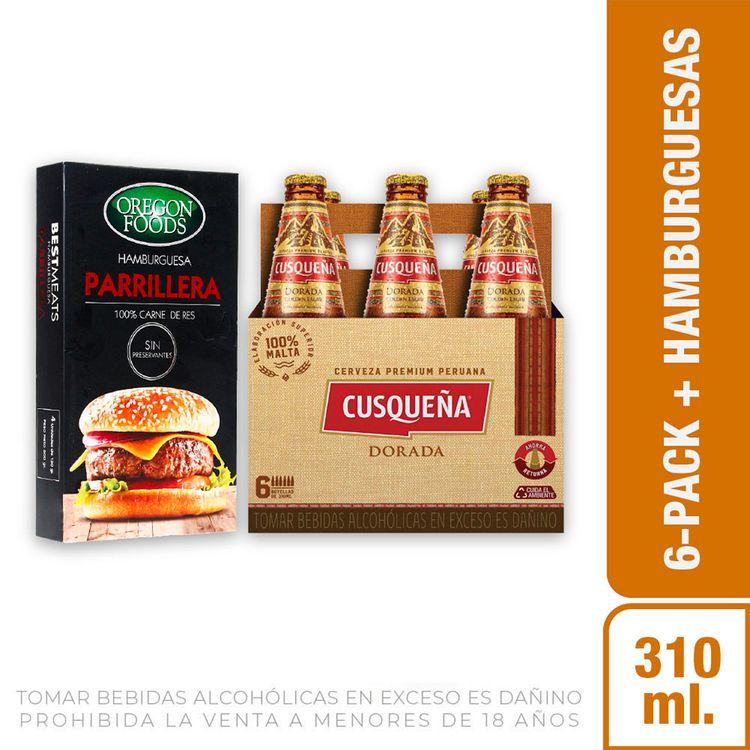 Cerveza-Dorada-Cusque-a-Pack-6-Botellas-de-310-ml-c-u-Hamburguesas-Parrilleras-Oregon-Foods-Caja-4-Unid-1-208191956
