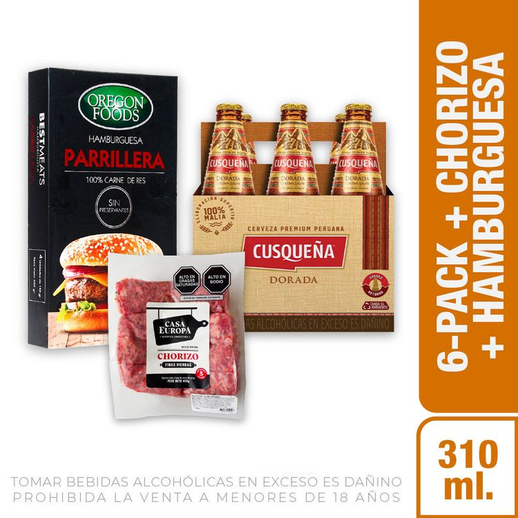 Cerveza-Dorada-Cusque-a-Pack-6-Botellas-de-310-ml-c-u-Chorizo-Finas-Hierbas-Casa-Europa-Paquete-400-g-Hamburguesas-Parrilleras-Oregon-Foods-Caja-4-1-208191966