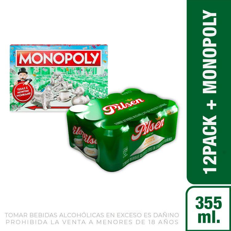 Cerveza-Pilsen-Callao-Pack-12-Latas-de-355-ml-c-u-Hasbro-Gaming-Nuevo-Monopoly-Cl-sico-1-208191972