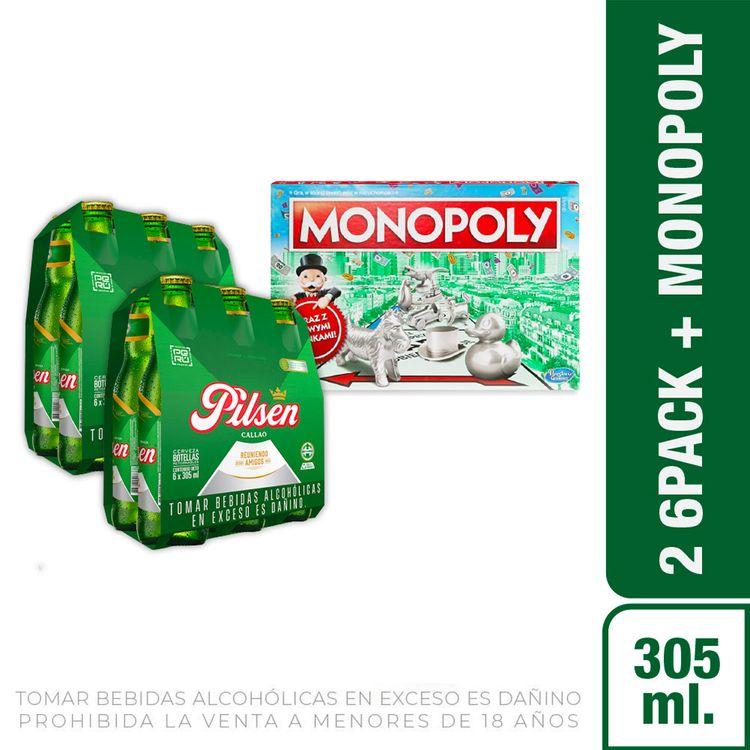 Cerveza-Pilsen-Callao-Pack-6-Botellas-de-305-ml-c-u-Hasbro-Gaming-Nuevo-Monopoly-Cl-sico-1-208191974