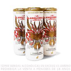 Cerveza-Artesanal-Lager-La-Blanquirroja-Candelaria-Lata-355-ml-Pack-4-unid-1-151770406