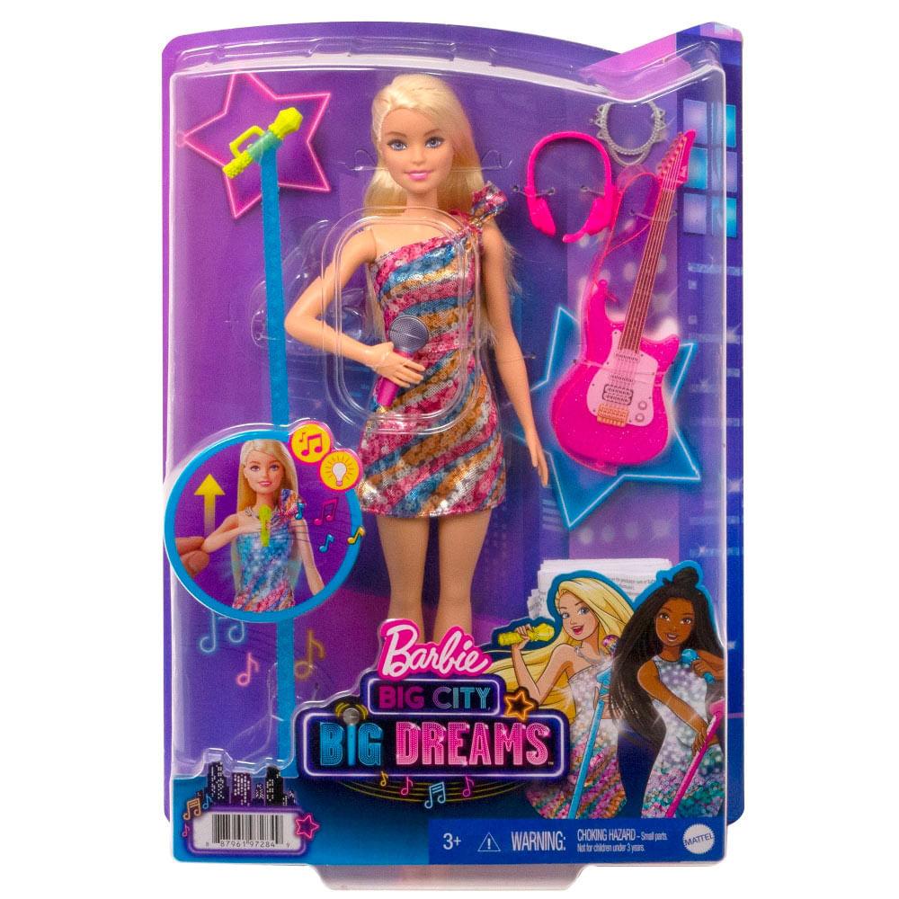 Barbie Big City Big Dreams Malibu Cantante Metro