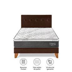 Para-so-Juego-de-Dormitorio-Pocket-Star-2-Plazas-Cama-Europea-Chocolate-Cabecera-2-Almohadas-1-218501516