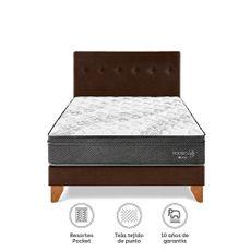 Para-so-Juego-de-Dormitorio-Pocket-Star-Queen-Cama-Europea-Chocolate-Cabecera-2-Almohadas-1-218501520