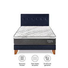 Para-so-Juego-de-Dormitorio-Pocket-Star-Queen-Cama-Europea-Azul-Cabecera-2-Almohadas-1-218501522
