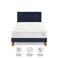 Para-so-Juego-de-Dormitorio-Pocket-Max-1-5-Plazas-Cama-Europea-Azul-Cabecera-Almohada-1-218501578