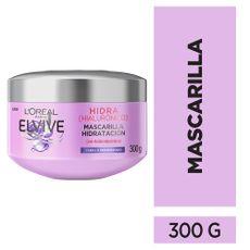 Tratamiento-Capilar-Mascarilla-con-cido-Hialur-nico-Cabello-Deshidratado-Elvive-Hidra-Pote-300-g-1-224685155